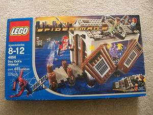 LEGO Spider Man   Rare Doc Ocks Hideout 4856   New & Sealed