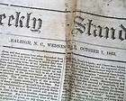 Civil War Newspaper BATTLE OF GETTYSBURG Robert E. Lees Report