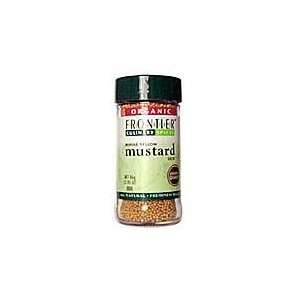 Frontier Natural Products Mustard Seed, Og, Yel, Whole, 3.05 Ounce