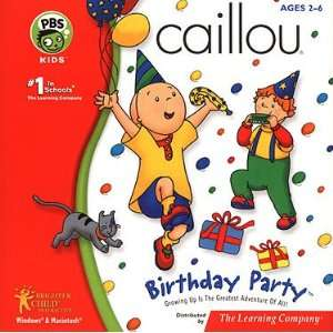 Caillou   Birthday Party (Party Fun & Games) Toys & Games