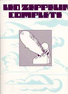 LED ZEPPELIN Complete 1973 SONG BOOK
