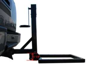 Hitch Mount Cargo Carrier Lift Hauler Trailer Jack Motorcycle Luggage