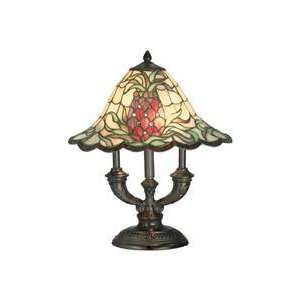 Dale Tiffany TT70698 Odessa 2 Light Table Lamp in Antique
