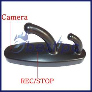 Spy Clothes Hook Camera Hidden DVR Cam Video 720*480 30fps