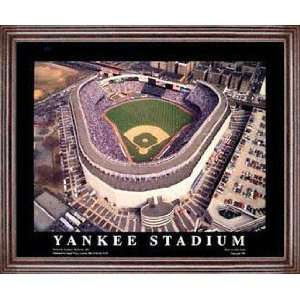 New York Yankees   Yankee Stadium   Framed 26x32 Aerial