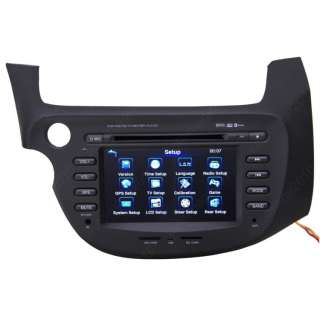 09 11 Honda Fit Car GPS Navigation Radio DVB T TV Bluetooth IPOD