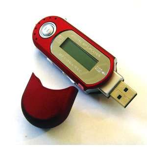 RED 4 GB 4GB USB Flash Drive++VR+FM