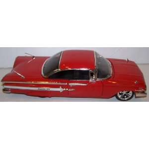 24 Scale Dub City Diecast 1960 Chevy Impala in Color Red Toys & Games