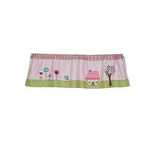 Living Textiles Baby Window Valance   Baby Doll Baby