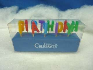 Dept 56 Time To Celebrate Happy Birthday Candles (544)