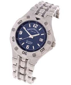 Field & Stream Mens Blue Dial Ocean Angler Watch