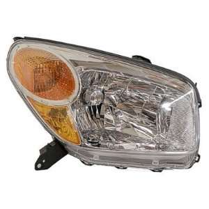 2004 05 TOYOTA RAV4 HEADLIGHT ASSEMBLY, PASSENGER SIDE   DOT Certified