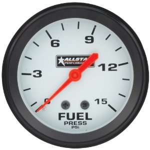 15 PSI Mechanical Fuel Pressure Gauge with Allstar Logo Automotive