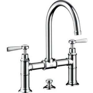 Chrome Axor Montreux Bridge Bathroom Faucet with Me