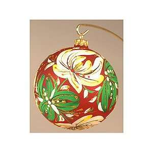 Christmas Tree Ornaments   Red Ball