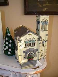 50199 Department 56 Dept Snow Village Cathedral w/ Box 5110