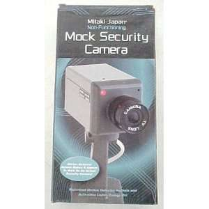 Motion Detecting Dummy Security Camera Mock Video