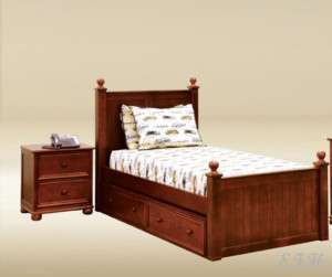 NEW ELEGANT CAMDEN FOUR POST TWIN WOOD BED