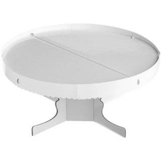 Wilton White Rectangle Cake Stand with Border