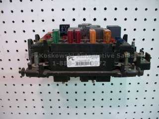 Chevy GMC Pickup Truck Under Hood Fuse Relay Panel Box 15328806 05