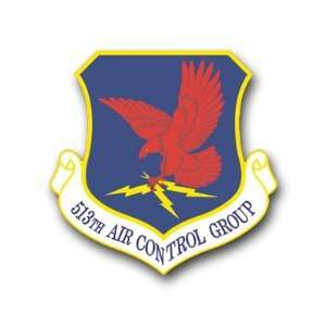 US Air Force 513th Air Control Group Decal Sticker 3.8 6