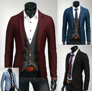 Mens All Colors Slim Fit Casual & Dress Blazer Slim Fit Jackets (US