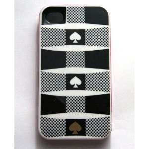 (Spade) Kate Spade 3 Layers Case for Iphone 4 + Gift Bag