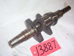 Cub Cadet 109 Kohler 301 Engine crankshaft