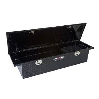 Truck Bed Tool Box, Black, 60, Low Profile, For Select Trucks
