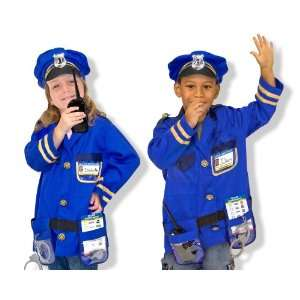 Melissa & Doug Police Officer Role Play Costume Set Toys & Games