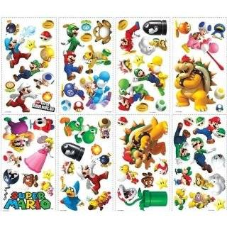 Super Mario Bros. Removable Wall Decorations Toys & Games