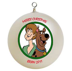 Personalized Scooby Doo Christmas Ornament Gift