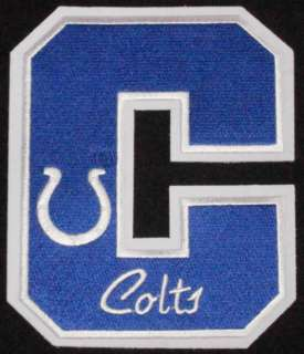 INDIANAPOLIS COLTS 5 LETTER PATCH NFL FOOTBALL CREST