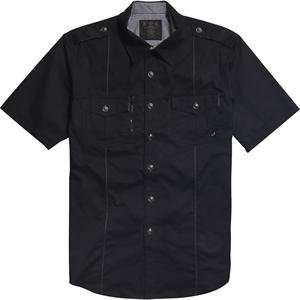 Fox Racing Ruckus Woven Shirt   Medium/Black Automotive