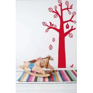 Ferm Living   Bird Tree Wall Sticker