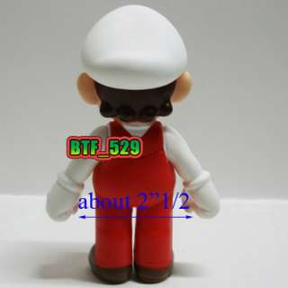 Mario Brothers Action Figure ( Fire Mario and Fire Luigi )