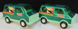 BUDDY L TOY SURFER VAN~SUN ROOF~BUBBLE WINDOW~GREEN~JAPAN~STEEL