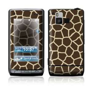 Dare VX9700 Skin Sticker Decal Cover   Giraffe Print