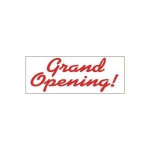Opening Theme Business Advertising Banner   Grand Opening Red Curves
