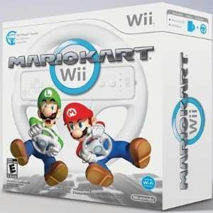 Selected Mario Kart with Wheel Wii By Nintendo Electronics