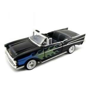 1957 Chevrolet Bel Air Custom Convt Diecast Car 1/18 Toys & Games