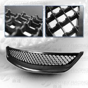 03 HONDA CIVIC JDM Altezza Style Mesh Front Grille   Black Automotive