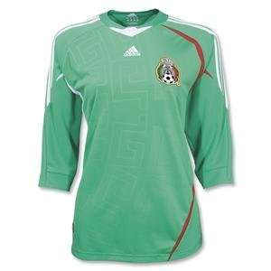 Mexico 07 09 Womens Home Soccer Jersey
