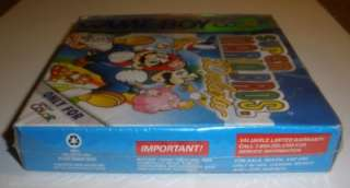 Game Boy Color Super Mario Bros Deluxe Factory Sealed 045496730925