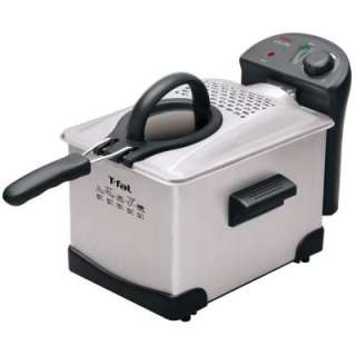 Fal Easy Pro Enamel 3 Liter Deep Fryer, Stainless Steel FR1014002 at