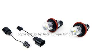 Superweiße BMW LED Angel Eyes E60 E61 E63 E64   8000K