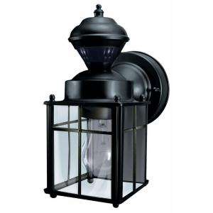 Heath Zenith Bayside Mission 150 Degree Outdoor Motion Sensing Lantern