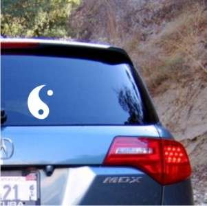 Ying Yang Decal Sticker   Car Truck Window Laptop