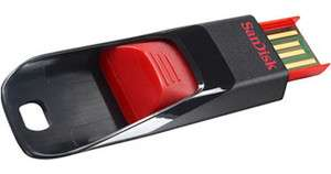 SANDISK CRUZER EDGE USB FLASH DRIVE 32GB 32G 32 G GB NEW LIFE TIME