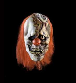 Morbid Industries Half Laugh Evil Clown Mask Crazy